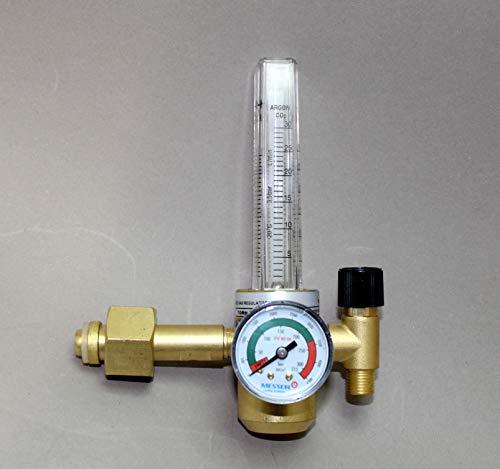 Druckminderer Argon CO2 Messer Flowmeter 200 bar Mischgas Schutzgas MIG MAG TIG