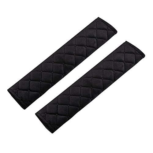 CYWVYNYT Almohadillas para cinturón de seguridad de 2 piezas, almohadillas avanzadas para cinturón de seguridad, almohadillas para cinturón de seguridad para coche, cómodas durante el viaje