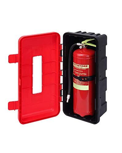Armario extintor de un solo comandante. **La señalización y los extintores no...