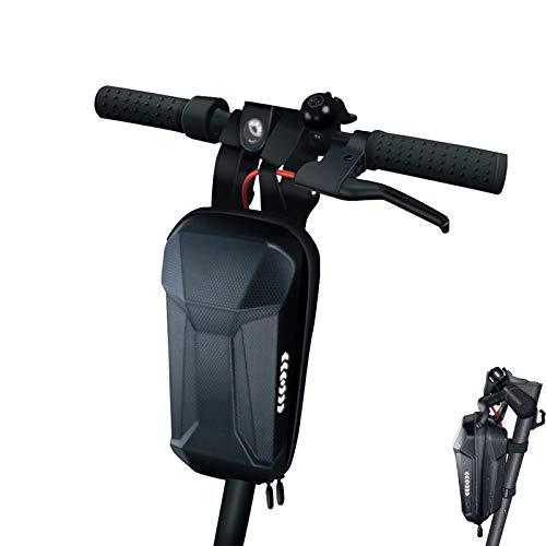 Konesky Scooter Electrico Bolsa Colgante de Manillar, Impermeable EVA Concha Dura Equilibrar Bolsa de Tubo Frontal Gran Capacidad Compatible con Xiaomi M365 Ninebot ES1/2/3/4 (3L-B)
