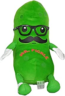 plush pickle pillow