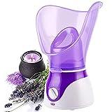 VOUM Nano Facial Steamers Sauna Home SPA Niebla cálida Hidratantes poros Limpiar las espinillas claras Acné Aromaterapia Cuidado de la piel Humidificador (púrpura)