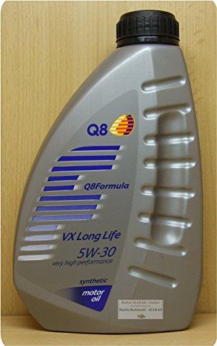 Q8 Formula VX Long Life 5W-30, 1Liter Ultrahochleistungs-Motoröl