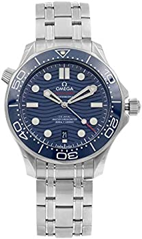 Omega Seamaster Automatic Blue Dial Men's Steel Watch