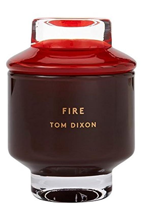 超越するブリッジ悔い改めTom Dixon 'Fire' Candle (トム ディクソン 'ファイヤー' キャンドル大) Large