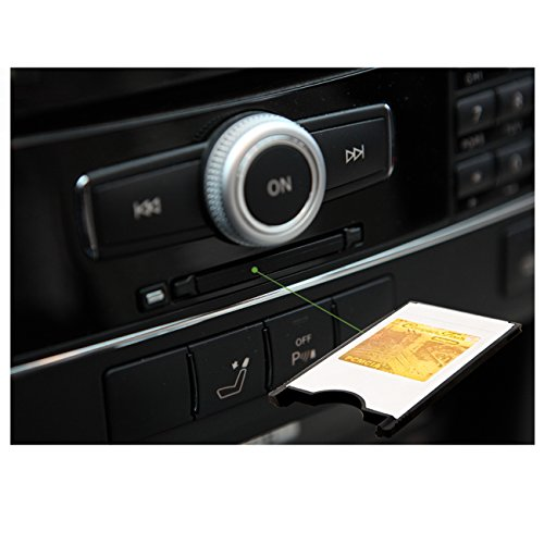 Tera®PCMCIA Adapter Multi Card Reader CF Kartenleser für Mercedes-Benz COMAND APS OVP