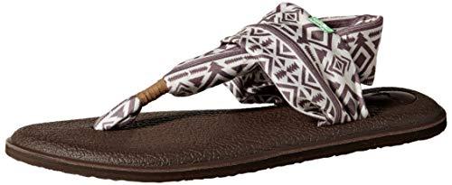 Sanuk Damen Yoga Sling 2 Solid Vintage Flip-Flop Sandale, Skyland Natural, 40 EU