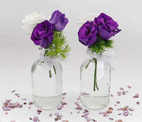 Jarrones Cristal Pequeños Colores jarrones cristal  Marca casavetro