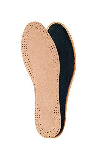 Plantillas de cuero natural para señoras con capa de carbón activado, plantillas de reemplazo para zapatos, botas (37 EUR)