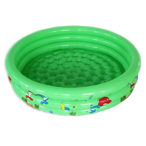 Soul hill Runde aufblasbare Pool-Wasser-Spiel for Baby-Swimmingpool Kinderbadekugel Sommer zcaqtajro (Color : Green)