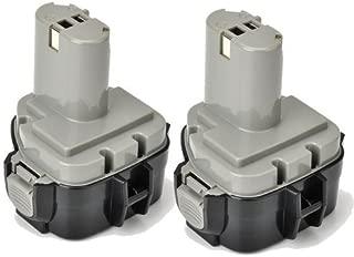 2 x ExpertPower 12v 3000mAh NiMh Extended Battery for Makita 1233 1234 1235 1235B 1235F 192696-2 192698-8 192698-A 193138-9 193157-5