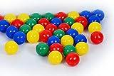 Bällebad24-300 Bällebad Bälle 7cm Ø, Tüv geprüft und zertifiziert 2019, in der Kindergarten & Gewerbequalität Babybälle Plastikbälle ohne gefähliche Weichmacher