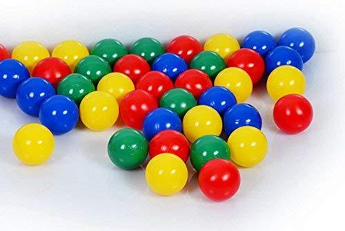 100 Bällebad Bälle ( Tüv geprüft und zertifiziert 2019 ) 8cm Babybälle Kindergarten & Gewerbequalität 8cm
