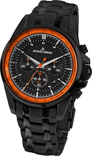 JACQUES LEMANS 1-1799Y - Reloj de pulsera para hombre