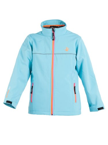 Ultrakidz Kinder Softshelljacke Lollipop, Blau, 152/158 (12 Jahre), 1300-161