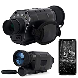 Eyeleaf 16MP WiFi Digital Night Vision Monocular Infrared Camera for Adults Night Hunting and Wildlife 100% Darkness