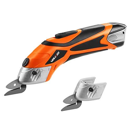 VOLLTEK Electric Cordless Scissor 3.6V li-ion Cutter Shears with 2 Pcs...
