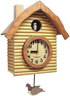 さんてる(Suntel) 掛け時計 ナチュラル 45×32.5×16.5cm