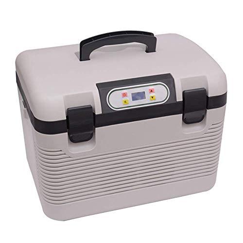 GHJA Enfriador y Calentador de Coche eléctrico Enfriador/Calentador eléctrico portátil de 19 l para Oficina, Dormitorio Universitario, Dormitorio y apartamento, frigorífico de compresor pequeño