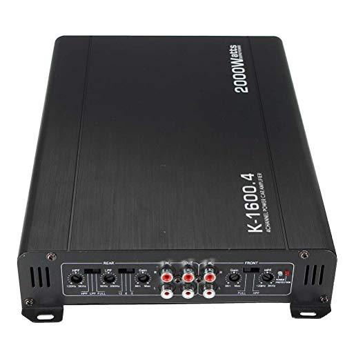 Liberación Amplificador De Coche De 2000 W Y 4 Canales, Amplificador De Vehículo, Amplificador Estéreo De Potencia, Amplificador De Potencia De Audio Automático, Amplificador De Audio Para Coche