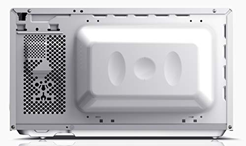 SHARP YC-MS01EC Mikrowelle mit Auftaufunktion/ 800 Watt/ 20 Liter/ 5 Leistungsstufen /Inkl. Drehteller, Mechanische Steuerung