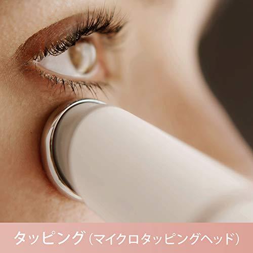 ブラウン顔用脱毛器ブラウンフェイスマイクロタッピングヘッド/洗顔ブラシ付ホワイトSE912