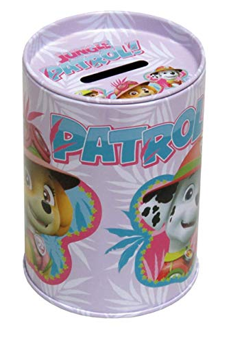 PAW PATROL- 0 Hucha cubilete Metal, Multicolor, 0 (CYP Imports PH-03-PW)