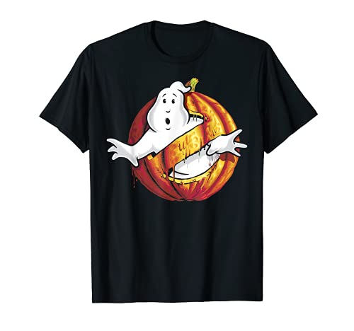 How cool is this! Ghostbusters Halloween Pumpkin Logo T-shirt, adult, child sizes up to 3XL
