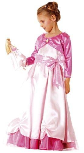 Mattel - B237-001 - Déguisement Costume - Barbie Doll & Me - Begonia - Rose Pale - 3/5 Ans