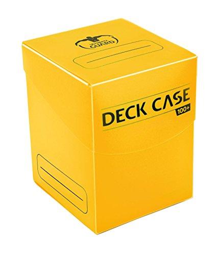 Ultimate Guard UGD010304 - Deck Case 100+ Standardgröße, gelb