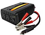 Duracell DRINV800 High Power Inverter 1600 Watt Peak 800W Continuous, 12v DC Input Includes 2 AC Outlets (115V) Plus 2.1 Amp USB...