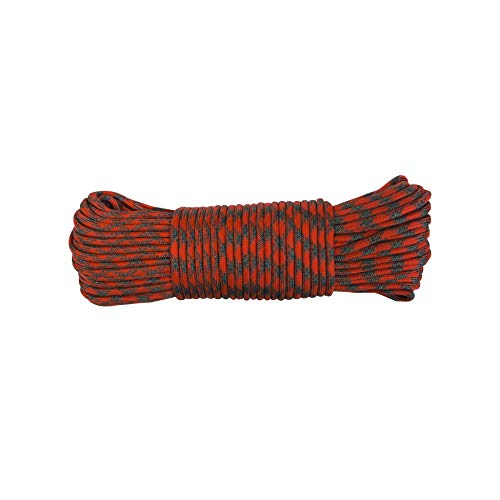 UST 30 Foot ParaTinder Utility Cord with Heavy Duty Paracord and Flammable Thread Core for Emergency, Hiking, Camping, Backpacking or Outdoor Survival