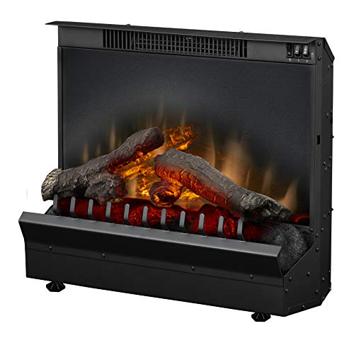 DIMPLEX Deluxe 23' Electric Fireplace Insert (Model: DFI2310 120V, 1375W, 12.5 Amps, Black