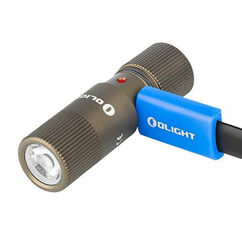OLIGHT I1R 2 Eos Mini Taschenlampe Set für Schlüsselanhänger, Wiederaufladbarer LED Taschenlampe Handlampe für Kinder 150 Lumen IPX8 Wasserdicht für Camping und Radfahren
