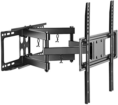 Lzpzz Soporte de TV para pared para TV de 40 a 70 pulgadas, inclinación y rotación máxima VESA600 x 400 mm plusmn; 3 grados; ajuste horizontal fino 40 kg