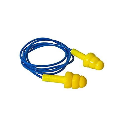 Abafador de Ruidos Plug Proteção Ouvido Obra Cordão Pvc