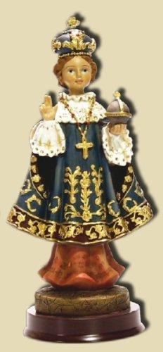 Infant Jesus of Prague me 20cm blue cloak, height by Zisaline