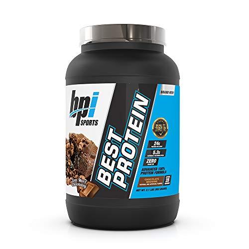 BPI Sports Best Protein Advanced 100% Protein Formula, Chocolate Brownie, 2.1 Pound