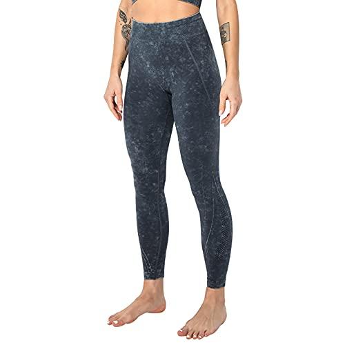 JNWBFC Leggings Mujer Pantalones De Yoga Pantalones De Bolsillo Medias De Gimnasio Cintura Alta Deporte Correr Estiramiento Deportes Transpirable Fitness