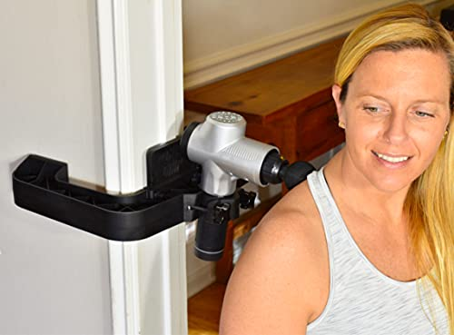 The Gun Grip Hands Free Massage Gun System