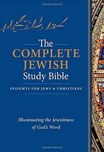 Compare Textbook Prices for The Complete Jewish Study Bible: Illuminating the Jewishness of God's Word Flexisoft, Blue ed. Edition ISBN 9781619708679 by Rubin, Rabbi Barry,Stern, David H.