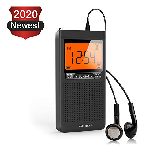 in budget affordable AM FM Portable Radio Personal radio with excellent receiver battery powered by two AAA batteries …