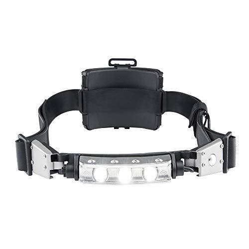 Discover White LED Helmet Light Tilt