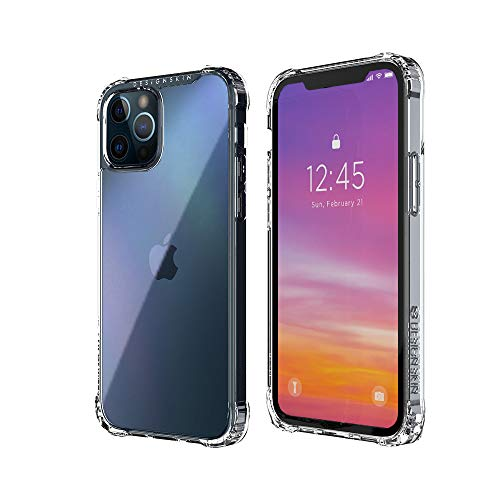 Design Skin Phoenix Pro Bumper Designed for iPhone 12 Case (2020) / Designed for iPhone 12 Pro Case (2020) Slim Shock Absorbing Protective Case Compatible with iPhone 12/Pro Case (6.1 Inch) - Hologram