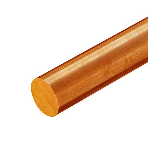 온라인 금속 공급 C510 인 청동 라운드 로드 2.000(2인치) X 2.375인치