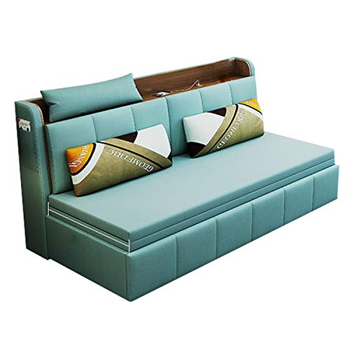 YUYTIN Colchón Plegable y sofá Cama para huéspedes Pequeño Pulso Multifuncional Plano Pulso Multifuncional Sentado y Loung Balcón Ocio Lezal Lazy Sofá,1.8m