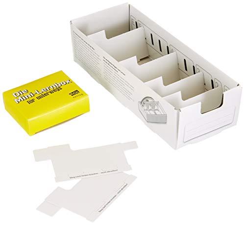 Lernbox (DIN A8) zum Selbergestalten: Lernbox zum Selbstbefüllen, fertig montiert (Alle Klassenstufen)