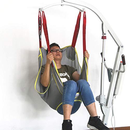 Medizinische Transfer Lift Sling mit 4 Gurten Sicheres Heben 507 Pfund Kapazität für Transfer, sicherer und sicherer Lift bettlägeriger, behinderter Safe Belt Ouoy