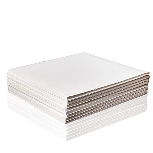 100 Sheets (13.8InX13.4In) 35cmX34cm Half-ripe/Half raw/Half Sheng Xuan Paper/Rice Paper for sumi-e Brush Chinese Calligraphy and Painting