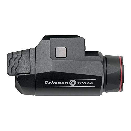 Crimson Trace CMR208 Universal Rail Master Tactical Light with 2 Mode Flashlight and Instant Activation for Pic Rail Mounts Shooting Competition and Range